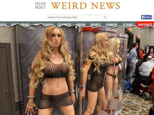 Bonecas reaisAs bonecas infláveis estão cada vez mais próximas da realidade. Por US$ 8.500 (em torno de R$ 20 mil), a empresa Real Doll oferece mulheres tão reais que você pode até se assustar. Um dos exemplos é o clone da atriz pornô Jessica Drake