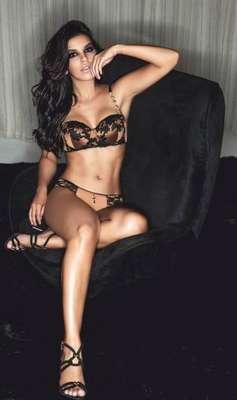 Mariana Rios estrela a primeira campanha pela marca de lingerie 2Rios