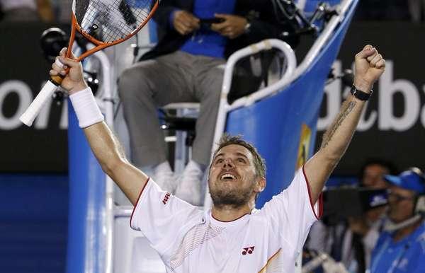 Stanislas Wawrinka venceu Rafael Nadal por 3 sets a 1 e conquistou neste domingo o Aberto da Austrália 2014; foi o primeiro título de Grand Slam do suíço na carreira