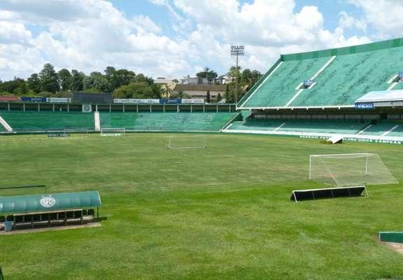 Estádio do Guarani, o Brinco de Ouro da Princesa receberá os treinos da Nigéria