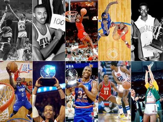 Conoce a los jugadores que más han brillado en la historia de un Juego de Estrellas de la NBA.