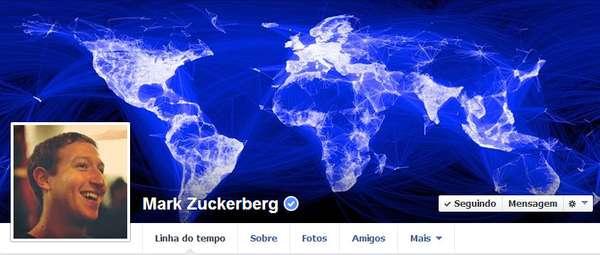 1) Mark Zuckerberg, cofundador do Facebook. Agora ele administra o negócio
