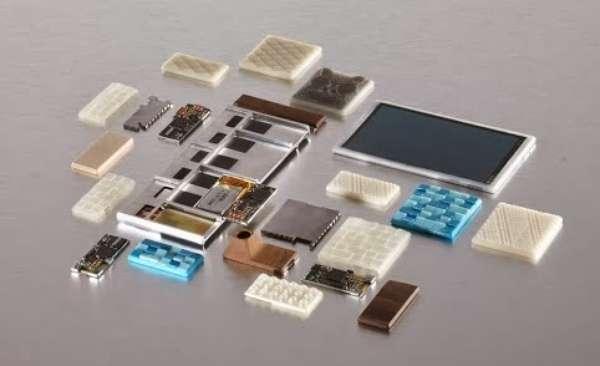 Imagem do protótipo de celular modular
