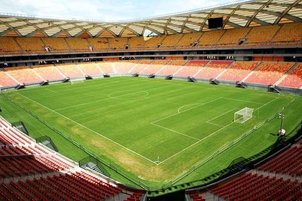 26 de fevereiro: Arena Amazônia encerra últimos detalhes para receber primeiro teste