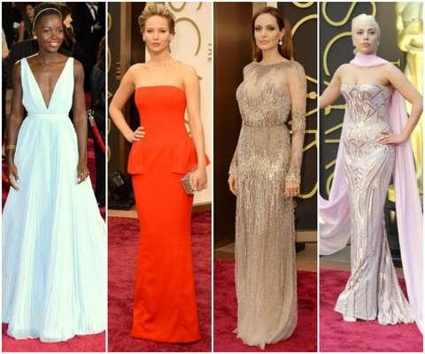 ¡Metálicos y glamour! Las estrellas brillaron en la alfombra roja más lujosa del año: los Oscars.