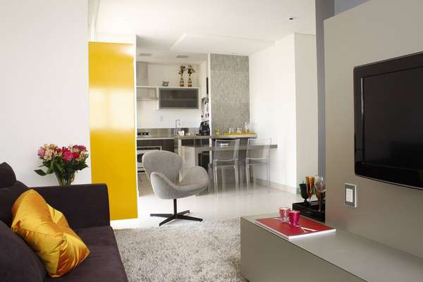De 38m a 60m veja dicas para decorar espa os pequenos for Ver apartamentos pequenos
