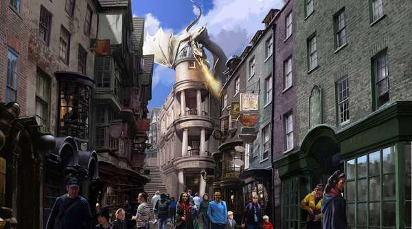Os fãs de Harry Potter estão cada dia mais ansiosos para ver de perto, participar e viver os detalhes da história criada por J.K. Rowling. Isto tudo porque o suspense sobre a data oficial de abertura das novas atrações do tema no parque Universal Studios continua. A inauguração do tão esperado Hogwarts Express e da área do Diagon Alley (Beco Diagonal) será no próximo verão no hemisfério norte, que acontece entre maio e agosto.