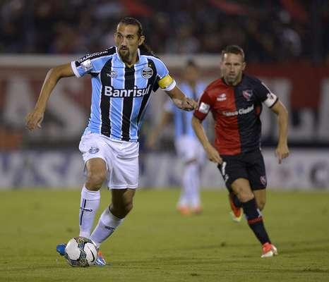 Barcos deu assistência para gol que salvou o Grêmio