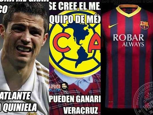 El duelo Real Madrid vs. Barcelona y el empate de América frente a Veracruz protagonizaron