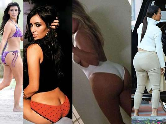 Increbles Fotos del Culo de Kim Kardashian Happy FM