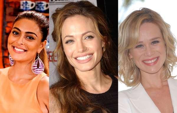 Para driblar a falta de tempo, famosas como Juliana Paes, Angelina Jolie e Mariana Ximenes apostam em cuidados de beleza que envolvem desde borrifadas de água termal até o uso de creme para assaduras