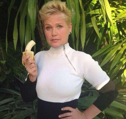 Xuxa, apresentadora da Rede Record