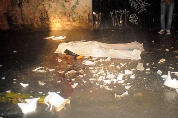 Paulo Ricardo Gomes da Silva, 26 anos, foi atingido por um vaso sanitário no Arruda e morreu na hora