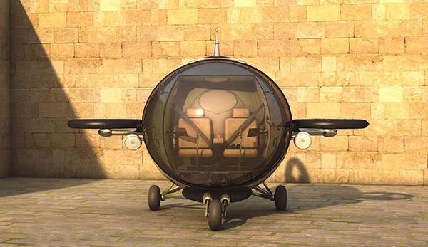 O designer Eduardo Galvani criou o Fly Citycopter, um projeto que promete ser o futuro do transporte pelo ar