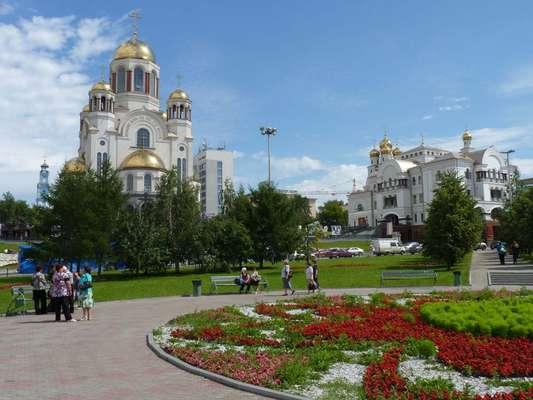 Ecaterimburgo é a grande metrópole dos montes Urais, a cordilheira de montanhas que delimita geograficamente a Europa da Ásia