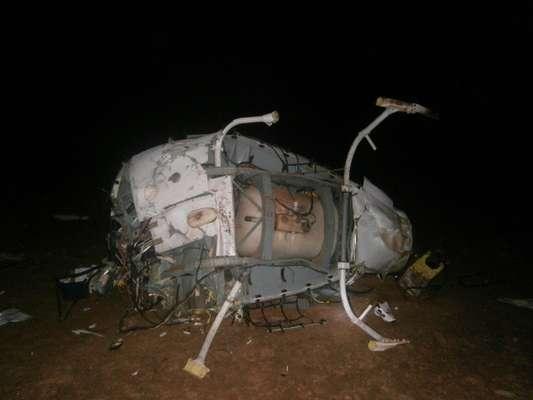Um acidente de helicóptero em Aruanã (GO) na madrugada deste sábado vitimou cinco pessoas, entre elas o ex-atacante Fernandão, com passagens por Inter, Goiás e São Paulo; veja