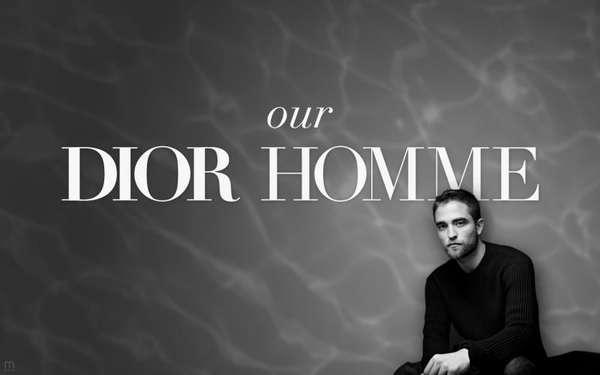 Robert Pattinson protagoniza una sensual campaña en la que se ha inspirado en James Dean para promocionar 'Dior Homme'