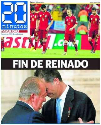 """20 Minutos (Andaluzia)""""Fim de reinado"""""""