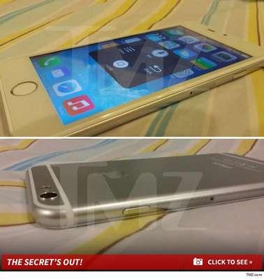 O site TMZ mostrou um supostoiPhone 6rodando o sistema antigo iO7; o verdadeiro já deve vir com o sistema atualizado iOS 8