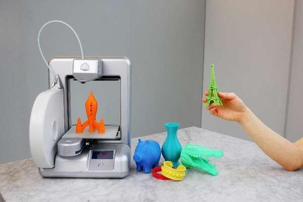 Impressora 3D para uso doméstico da Robtec permite que o usuário faça brinquedos e outros objetos