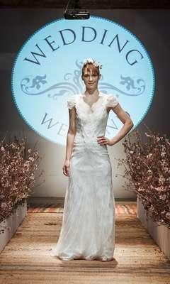 Além de reunir dezenas de fornecedores de produtos e serviços para festas de casamento, o Wedding Weekend mostrou ainda tendências da moda para noivas