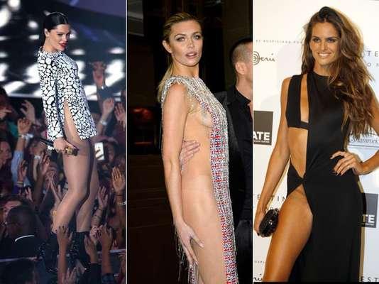 Quem já saiu de casa sem calcinha? Acredite, muitas famosas confirmariam essa pergunta. Vejaos looks na galeria: