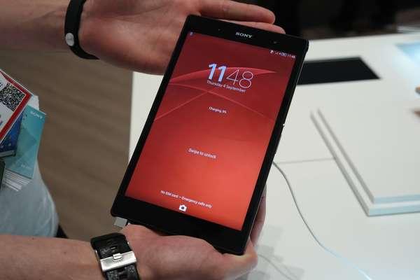 Z3 Tablet Compact traz 3GB de memoria RAM