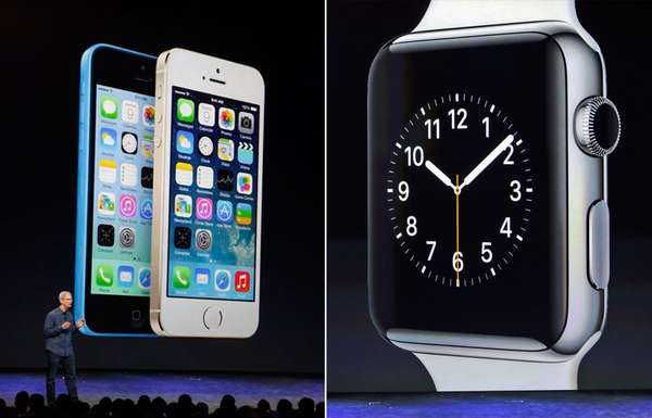 iPhones e Apple Watch