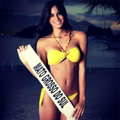 Ela já foi Miss Mato Grosso do Sul e participou do Miss Mundo 2011