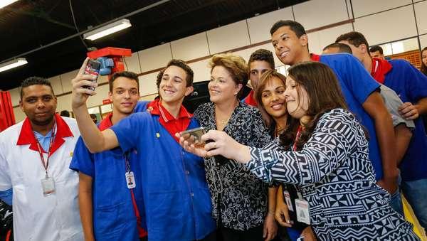 Durante a campanha eleitoral deste ano, os principais candidatos à Presidência abusaram da selfie para se aproximar dos eleitores