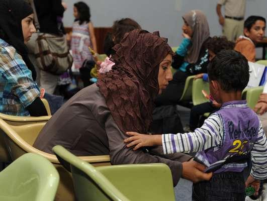 Milhares de famílias sírias têm deixado o país para fugir da guerra, que se estende desde 2011