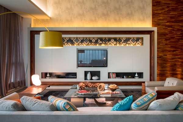 No Loft Férias em Lisboa, Andrea Chicharo deu lugar de destaque para a premiada cama holandesa Auping