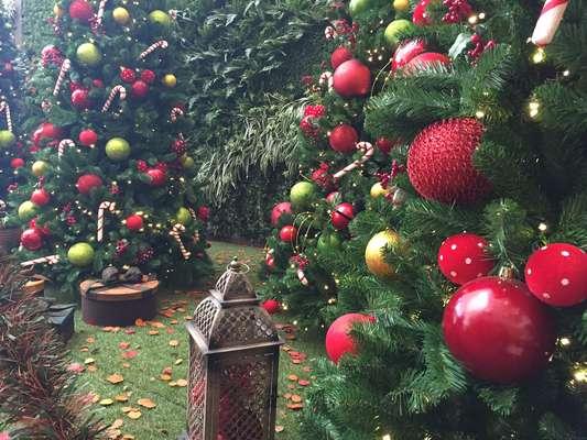 decoracao jardim natal: Paulo – Decoração de Natal do shopping Jardim Sul, em São Paulo