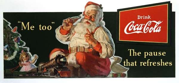 Primeira propaganda da Coca-Cola com a imagem do Papai-Noel foi em 1931