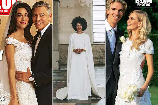 De clássicos de seda a modernos com capa, veja quais foram os modelos de noiva escolhidos pelas famosas que mais chamaram a atenção neste ano