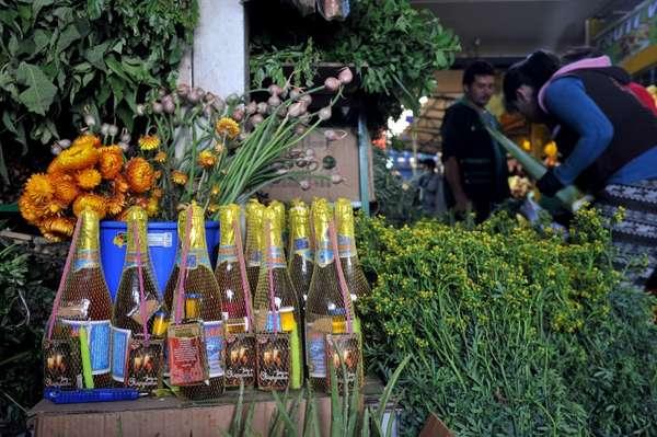 Baños Para Nuevo Ano:Fotos de las preparaciones de Año Nuevo 2015 y rituales en Colombia
