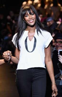O Fashion For Relief é um evento beneficente criado por Naomi Campbell. Este ano, os fundos serão doados parao combate ao ebola