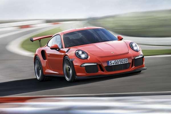 El Porsche 911 GT3 RS 2016.