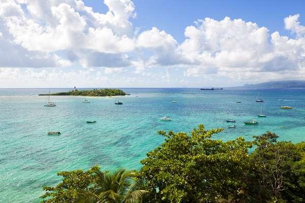 A ilha de Guadalupe é a primeira escala do cruzeiro
