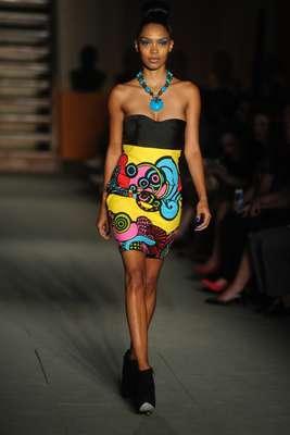 Cinco estilistas africanos apresentaram suas criações no Museu AfroBrasil, no Parque Ibirapuera, como parte do projeto África Africans, nesta sexta