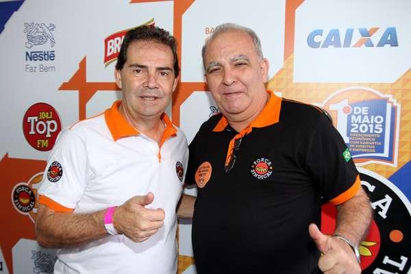O deputado federal Paulinho da Força (SD-SP) marcou presença no evento da Força Sindical em São Paulo