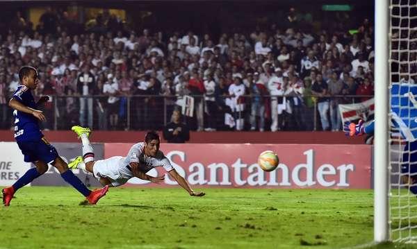Gol de Centurión deu a vitória ao São Paulo sobre o Cruzeiro na Libertadores