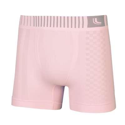 Cueca boxer microfibra sem costura rosa. Da Lupo. Por R$ 29,20. SAC: 0800-707-8220