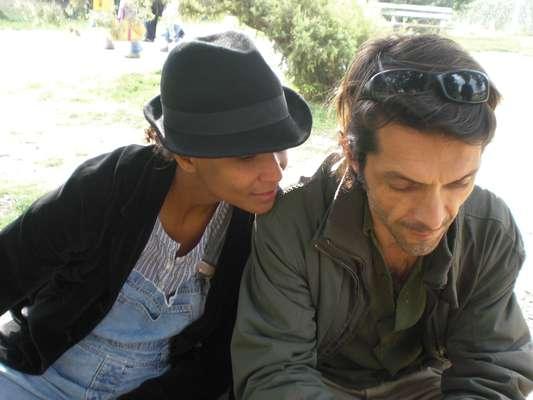 A brasileira Ana Gabriel e o francês Jean-Jacques Sanchez encontram o público em oficina de dança e em performance no Parque de Coqueiros