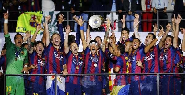 Barcelona venceu a Juventus por 3 a 1 em Berlim e levou o título da Liga dos Campeões