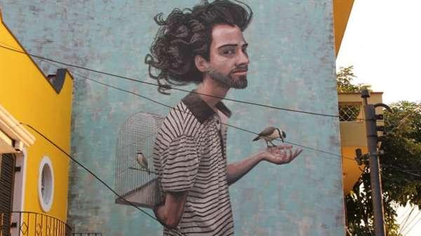 Fruto de ação política ou simplesmente de uma manifestação artística espontânea, o grafite se disseminou por São Paulo colorindo os muros da cidade