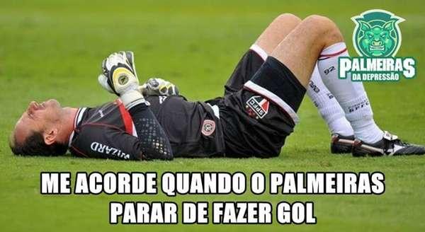 Veja os memes de Palmeiras 4 x 0 São Paulo