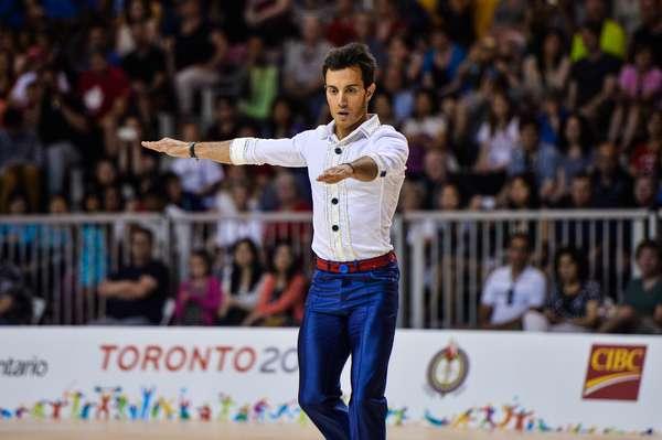 Marcel Stürmer voltou a comprovar a sua superioridade e venceu o ouro da patinação artística nos Jogos Pan-Americanos de 2015, em Toronto. O atual campeão mundial é, agora, tetra pan-americano