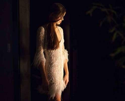 O vestido bordado ficou entre os figurinos mais pedidos da TV Globo em junho