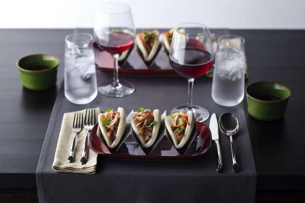 Tacos vietnamitas estão entre as atrações do restaurante pan-asiático Silk